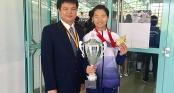 Việt Nam giành HCV lịch sử ở giải Karatedo Thế giới