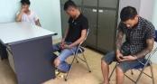 Bắt trọn nhóm cướp chuyên dùng súng ở Hà Nội