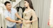 Vừa trở về từ Yên Bái, Hoa hậu Đỗ Mỹ Linh khoe sắc vóc \