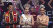 Dương Yến Ngọc đăng quang Hoa hậu Quý bà Hòa bình châu Á 2017
