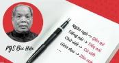 Thêm trường chuyên ra đề thi về cải tiến tiếng Việt của PGS.TS Bùi Hiền