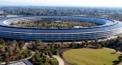 Toàn cảnh trụ sở hình đĩa bay khổng lồ của Apple nhìn từ drone