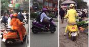 Bản tin thời trang giao thông: Những nàng ninja có \