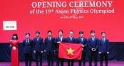 Vượt qua 188 thí sinh đến từ 25 quốc gia, học sinh Việt Nam đạt 4 HCV tại Olympic Vật lý Châu Á
