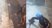 Clip cô gái chạy xe tay ga trộm chó nhanh như cắt ở Kiên Giang