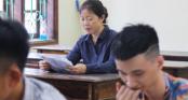 Nghệ An: Thí sinh 50 tuổi dự thi THPT Quốc gia 2018 để thực hiện ước mơ cuộc đời
