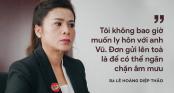 Sau sự xuất hiện đầy bất ngờ của chồng, bà Lê Hoàng Diệp Thảo tuyên bố từ bây giờ sẽ chỉ nói chuyện kinh doanh
