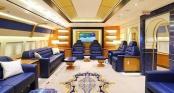 Cận cảnh siêu phi cơ dát vàng, 10 phòng tắm của Hoàng gia Qatar đang được rao bán 650 triệu USD