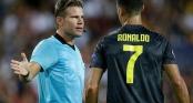 Trọng tài đuổi Ronaldo là tiến sĩ luật, từng mắc nhiều sai lầm nghiêm trọng trong quá khứ