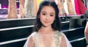 Cuộc sống sang chảnh của cô bé 10 tuổi gây sốt đêm chung kết Hoa hậu Việt Nam