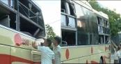 Quảng Bình: Nhà xe Hưng Long liên tục bị côn đồ ném đá, tấn công tài xế