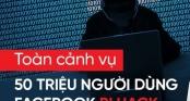 Nhìn lại toàn cảnh vụ 50 triệu người dùng Facebook bị hack