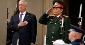 """Bộ trưởng Quốc phòng Mỹ James Mattis: """"Giữa hai quốc gia chúng ta, chúng ta tôn trọng quá khứ"""""""