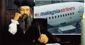Sốc: Thảm kịch MH370 được nhà tiên tri Nostradamus thấy trước từ 500 năm