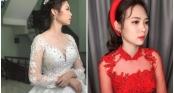 Tiết lộ nhan sắc siêu lung linh của cô dâu 18 tuổi trong đám cưới khủng, chi gần 1 tỷ đồng dựng rạp ở Vĩnh Phúc