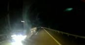 Xe tải lao ngược chiều vun vút trên cao tốc Nội Bài - Lào Cai lúc 1 giờ đêm