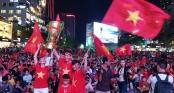 Người hâm mộ ở Sài Gòn tin tưởng đội tuyển Việt Nam sẽ chiến thắng