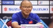 HLV Park Hang Seo nói gì khi tuyển Việt Nam để Malaysia gỡ hòa?