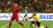 Báo châu Á: Việt Nam may mắn không thua Malaysia trong trận chung kết lượt đi AFF Cup