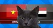 Clip: Mèo Cass dự đoán kết quả trận Việt Nam vs Yemen