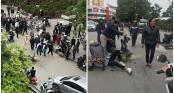"""Thực hư thông tin CSGT """"quăng lưới"""" bắt người vi phạm giao thông khiến học sinh ngã ra đường"""