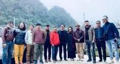 Dàn nghệ sĩ Vbiz về Sơn La từ sớm để dự đám cưới NSND Trung Hiếu