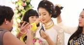 Choáng với mỹ nhân Việt vàng đeo trĩu cổ trong ngày cưới