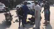 Chị tử vong, em nguy kịch sau khi va chạm với  ô tô trên đường đi học về