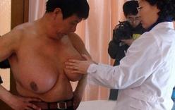 Giải cứu người đàn ông có bộ ngực to nhất thế giới