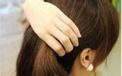 Lạ mắt với tết tóc ngắn