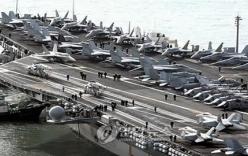 Cận cảnh cụm tàu sân bay khủng của Mỹ