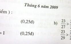 Giải đề thi Toán vào lớp 6 trường Marie Curie