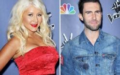 Maroon 5 hát chung với Christina Aguilera
