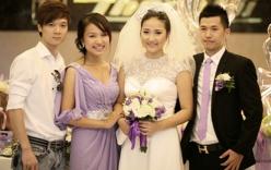 Thanh Vân Hugo và chồng dự tiệc cưới NTK Vũ Hạnh