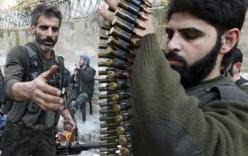 Xe tăng chính phủ Syria đè bẹp phe nổi dậy
