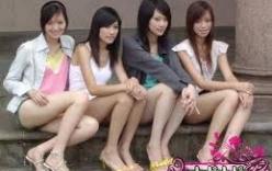 Chân dài sinh viên