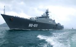 Uy lực chiến hạm Đinh Tiên Hoàng của hải quân Việt Nam