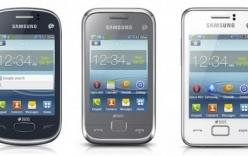 """Samsung ra mắt dòng điện thoại cơ bản """"lai"""" smartphone"""