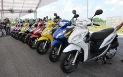 Honda Việt Nam ra mắt nhiều mẫu xe máy mới