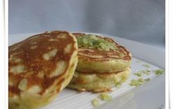Làm pancake cốm siêu ngon