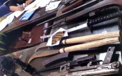 Giang hồ dùng dao, kiếm, súng thanh trừ lẫn nhau