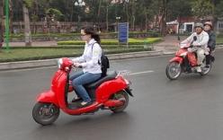Hầu hết người đi xe máy điện không đội MBH