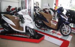Cận cảnh Honda Vision 2013 màu đẹp vừa bán ở VN