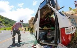Điểm tin nóng chiều 7/6: Xe khách chở giáo viên đâm vào vách núi, 6 người chết...