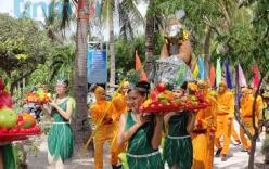 Lễ hội hoa quả sơn ở đảo Khỉ