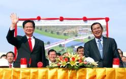 Khởi công xây cầu nối liền Việt Nam và Campuchia