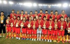 ĐT nữ Việt Nam đã nhận được 3 tỷ tiền thưởng cho ngôi vị Á quân SEA Games