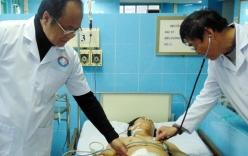 Bệnh nhân bị lưỡi cưa cắt sâu nửa bụng được cứu sống