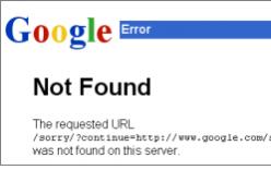 Tháng 3 người dùng truy cập vào Google bị ảnh hưởng