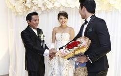 """Nam Thành """"chơi trội"""" tại đám cưới bạn gái cũ Hoàng Yến"""
